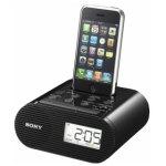 רדיו / שעון מעורר עם תחנת עגינה עבור IPHONE 4/4S