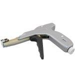 אקדח מהדק אזיקונים מפלסטיק מקצועי - גוף מתכת