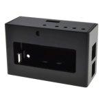 קופסת זיווד שחורה עבור RASPBERRY PI + PIFACE DISPLAY 2