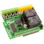 כרטיס הרחבה 2 PIFACE DIGITAL עבור RASPBERRY PI 2