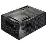 קופסת זיווד שחורה עבור RASPBERRY PI + PIFACE DIGITAL 2