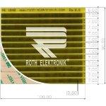 לוח פסי מגעים SMD נדבקים - PITCH 0.80MM