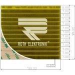 לוח פסי מגעים SMD נדבקים - PITCH 0.635MM