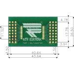 לוח מתאם לרכיבי TSOP I (28-48 PIN) ~ DIP - SMD