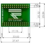 לוח מתאם לרכיבי SSOP-56 ~ DIP - SMD