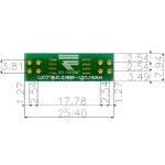 לוח מתאם לרכיבי SOIC-8W ~ DIP - SMD