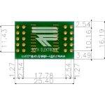 לוח מתאם לרכיבי SOIC-20W ~ DIP - SMD