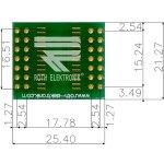 לוח מתאם לרכיבי SOIC-28W ~ DIP - SMD