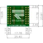 לוח מתאם לרכיבי SOIC-32 ~ DIP - SMD