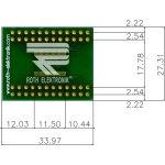 לוח מתאם לרכיבי TSSOP-48 ~ DIP - SMD