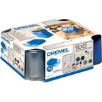 ערכת 100 אביזרים מודולריים למשחזת ציר - DREMEL 720