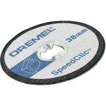 חבילת דיסקיות לחיתוך פלסטיק - DREMEL EZ SPEEDCLIC SC476