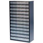 ארונית פלדה לאחסון רכיבים - 60 מגירות - 552X306X150MM