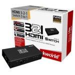 ממתג HDMI אוטומטי עם שלט 3:1