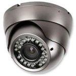 מצלמת אבטחה צבעונית - DOME IR 30M 540TVL
