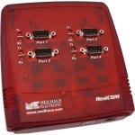 מתאם מבודד - (USB ~ 4XSERIAL (RS232