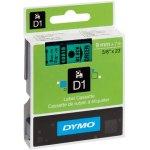 סרט פלסטיק דביק - 9MM X 7M - D1 - שחור / ירוק