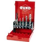 סט 6 מברזי מכונה קודחים - RUKO 270020 - COMBINED MACHINE TAP