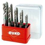 סט 10 מברזי מכונה - RUKO A245055E - MACHINE TAP