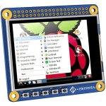 מסך מגע ''2.4 LCD עבור RASPBERRY PI