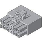 מחבר MOLEX ללחיצה לכבל - סדרת ULTRA-FIT - נקבה 10 מגעים