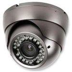 מצלמת אבטחה צבעונית - DOME IR 30M 600TVL