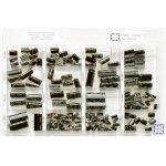 קיט קבלים אלקטרוליטיים - 16 ערכים - 167 יחידות