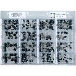 קיט קבלים פוליאסטר - 16 ערכים - 405 יחידות