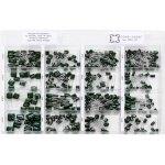 קיט קבלים פוליאסטר - 16 ערכים - 405 יחידות - NOVA CCC-21