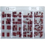 קיט קבלים פוליאסטר - 8 ערכים - 135 יחידות