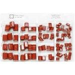 קיט קבלים פוליאסטר - 7 ערכים - 83 יחידות - NOVA CCC-62