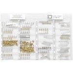 קיט קבלים SMD טנטלום - 24 ערכים - 600 יחידות - NOVA SMC-02