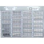 קיט קבלים SMD קרמיים - 24 ערכים - 2310 יחידות