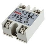 ממסר מצב מוצק - SOLID STATE RELAY - DC TO AC 40A