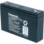 מצבר עופרת נטען - PANASONIC 6V 7.2AH