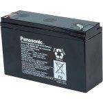 מצבר עופרת נטען VRLA - PANASONIC 6V 12AH