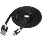 כבל VA-FC-1M-BKW , USB A ⇒ USB MICRO B