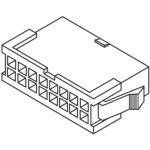 מחבר MOLEX ללחיצה לכבל - סדרת MINI-FIT JR - זכר 20 מגעים