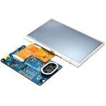מודול פיתוח - VM800C50A-D , 5.0'' TFT , FT800