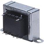 שנאי מבודד לפאנל - CTFCS - 230V ⇒ 2X9V - 660MA / 12VA