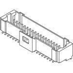 מחבר MOLEX להלחמה למעגל מודפס - סדרת PICO-CLASP - זכר 40 מגעים