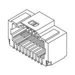 מחבר MOLEX להלחמה למעגל מודפס - סדרת PICO-CLASP - זכר 20 מגעים