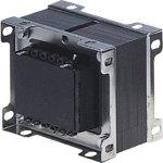 שנאי מבודד לפאנל - CTFCS - 230V ⇒ 2X50V - 1000MA / 100VA