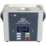 אמבטייה לניקוי אולטראסוני - 3 ליטר - SONIC 3D
