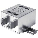 מסנן EMC / RFI עם חיבור לפס דין - סדרה 8A - FN2412H
