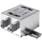 מסנן EMC / RFI עם חיבור לפס דין - סדרה 32A - FN2412H