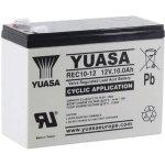 מצבר עופרת נטען - YUASA REC10-12 - 12V 10AH