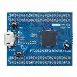 מדול פיתוח - FT2232H-56Q , USB ⇒ SERIAL / FIFO , FT2232H