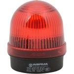 מנורת התראה אדומה קבועה - (7W , 12V ~ 240V (AC/DC