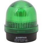 מנורת התראה ירוקה קבועה - (7W , 12V ~ 240V (AC/DC